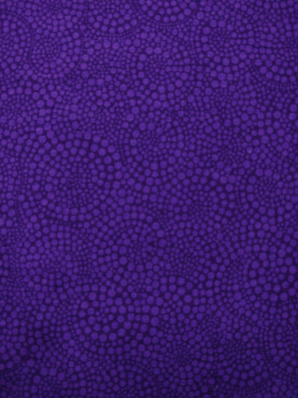 100% Cotton - Purple Circles - Timeless Treasure