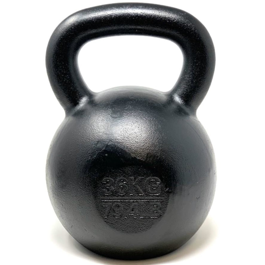 36kg / 79lbs E-coated Cast Iron Kettlebell - Great Lakes Strength Manufacturing