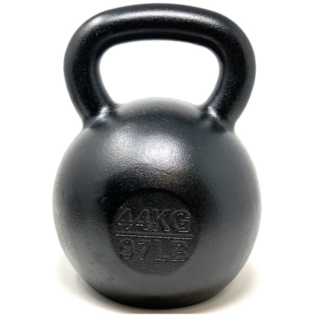 44kg / 97lbs E-coated Cast Iron Kettlebell - Great Lakes Strength Manufacturing