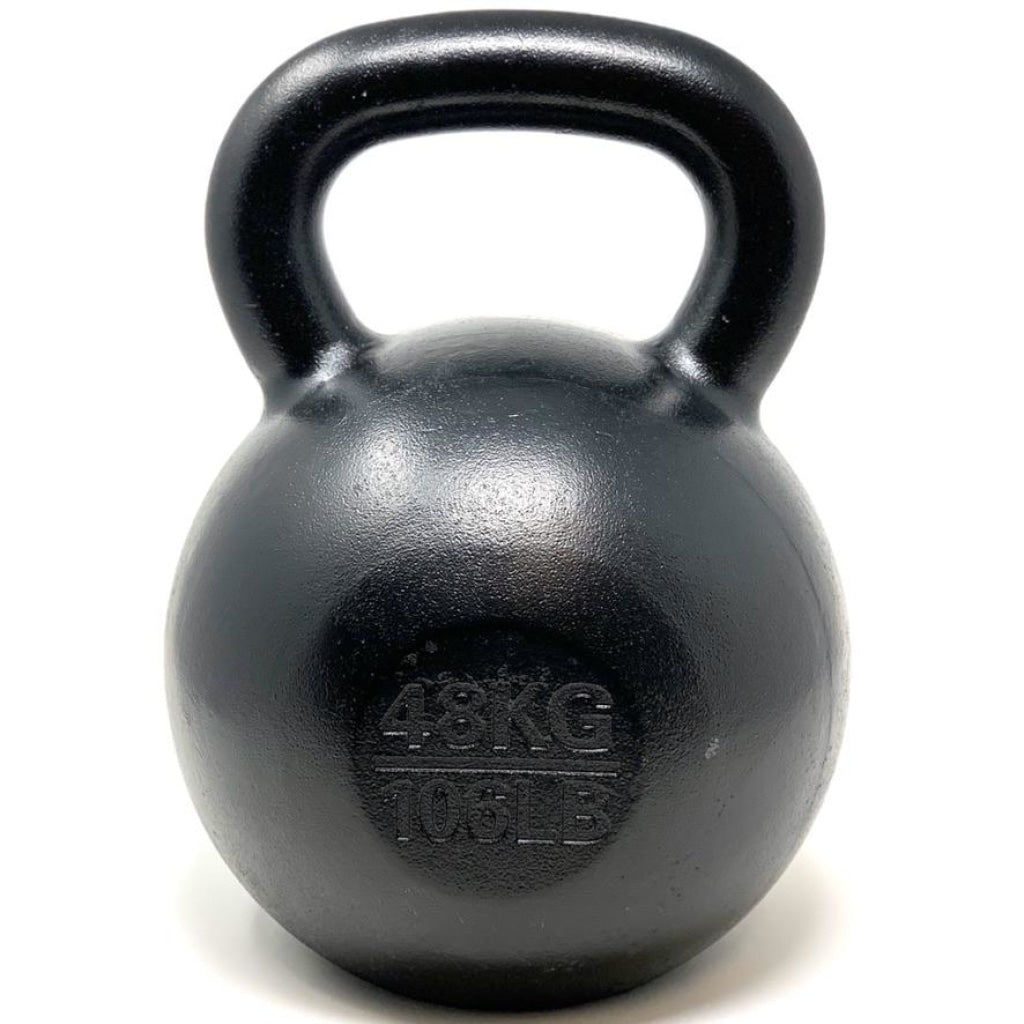 48kg / 106lbs E-coated Cast Iron Kettlebell - Great Lakes Strength Manufacturing