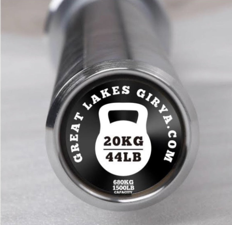 4 Bearing Barbell - Great Lakes Strength Manufacturing