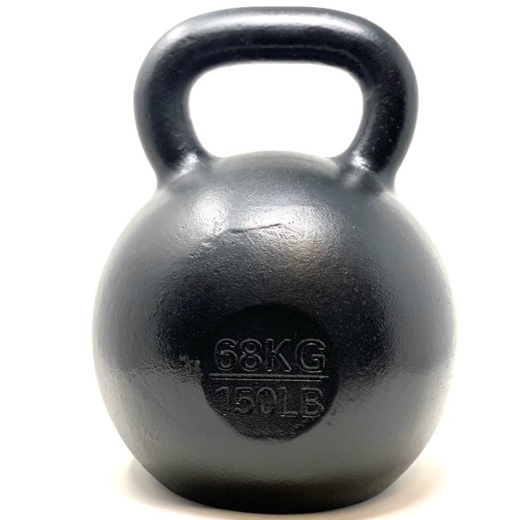68kg / 150lbs E-coated Cast Iron Kettlebell - Great Lakes Strength Manufacturing