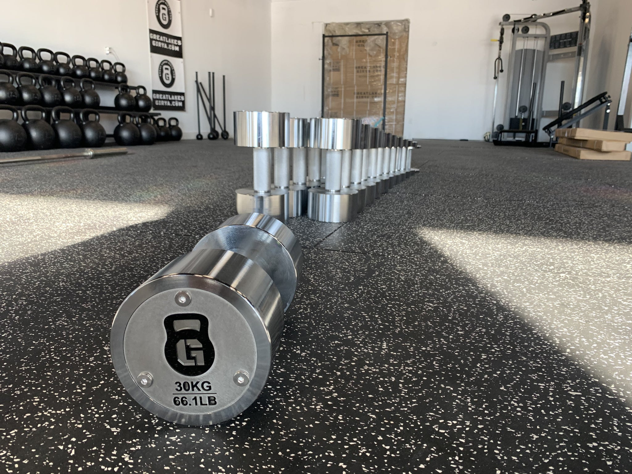 Thick revolve handle dumbbell set - Limited Edition - Great Lakes Strength Manufacturing