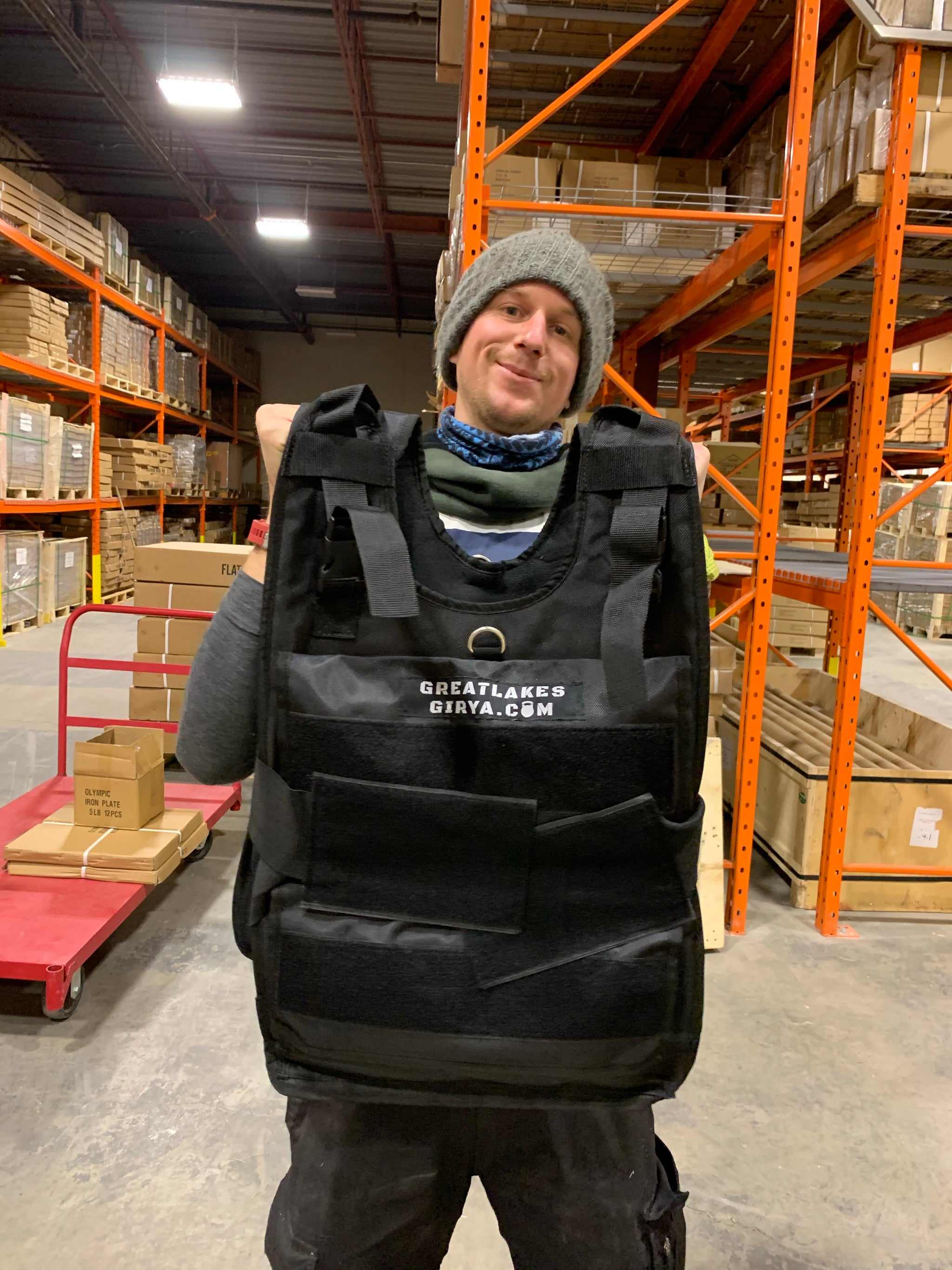 Weighted vest - Great Lakes Strength Manufacturing