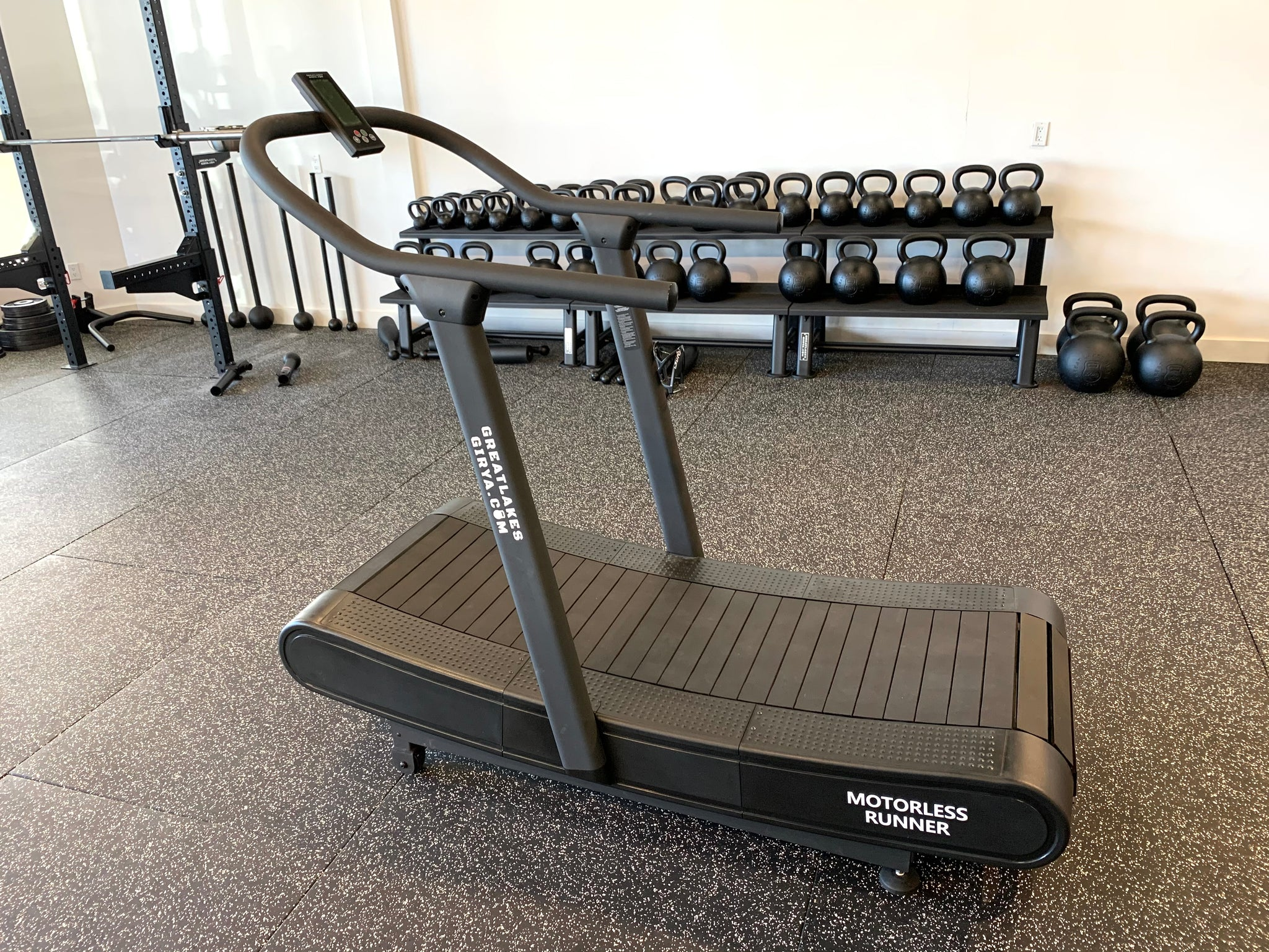 GLG Curved Motorless Treadmill - Great Lakes Strength Manufacturing