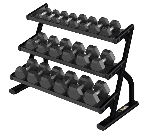 3 Tier Dumbbell Rack - Great Lakes Strength Manufacturing