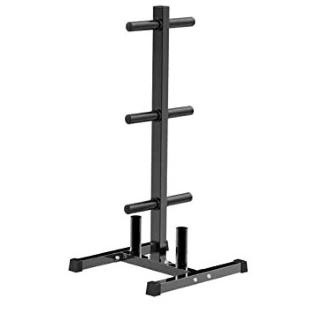 Plate Stand with Barbell Storage - Great Lakes Strength Manufacturing