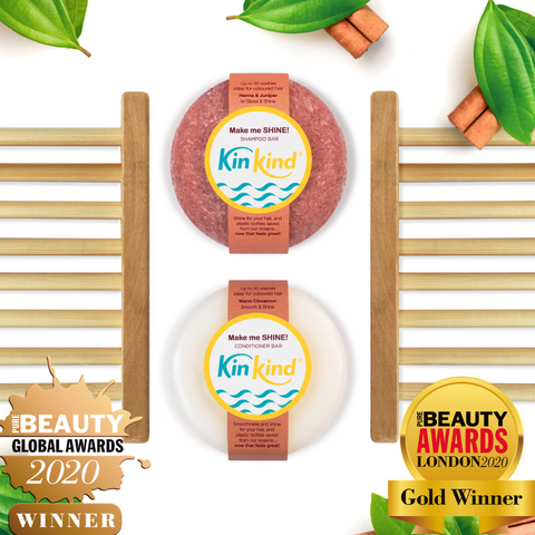 kinkind beauty gift sets are ideal eco friendly gifts