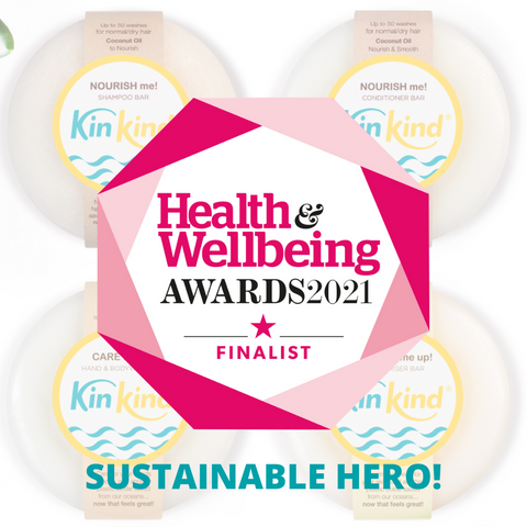 eco friendly gifts from KinKind in the Health & Wellbeing Awards 2021