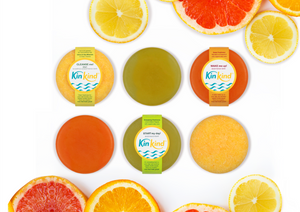 citrus shampoo bar for teens | shampoo bar greasy hair