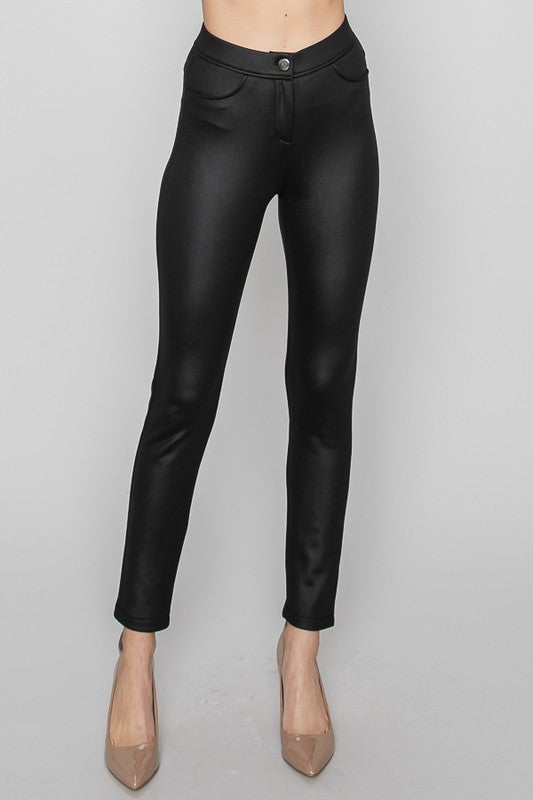 Breanna Faux Leather Legging