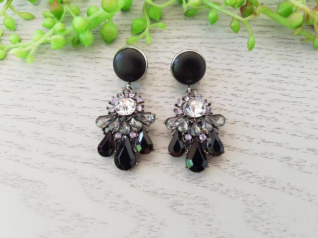 ANASON'S CREATIONS - Black Crystal Elegant
