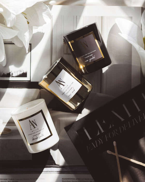 AN Style 3 Piece Candle Gift Set