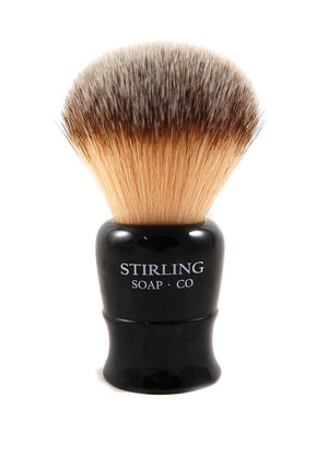 STIRLING SOAP CO SYNTHETIC SHAVE BRUSH, 24mm X 51mm