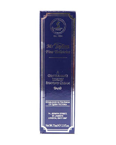 TAYLOR OF OLD BOND STREET MR TAYLORS A GENTLEMAN'S LUXURY SHAVING CREAM TUBE 2.5 FL OZ