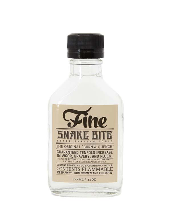 FINE SNAKE BITE AFTER SHAVE TONIC 3.3 OZ
