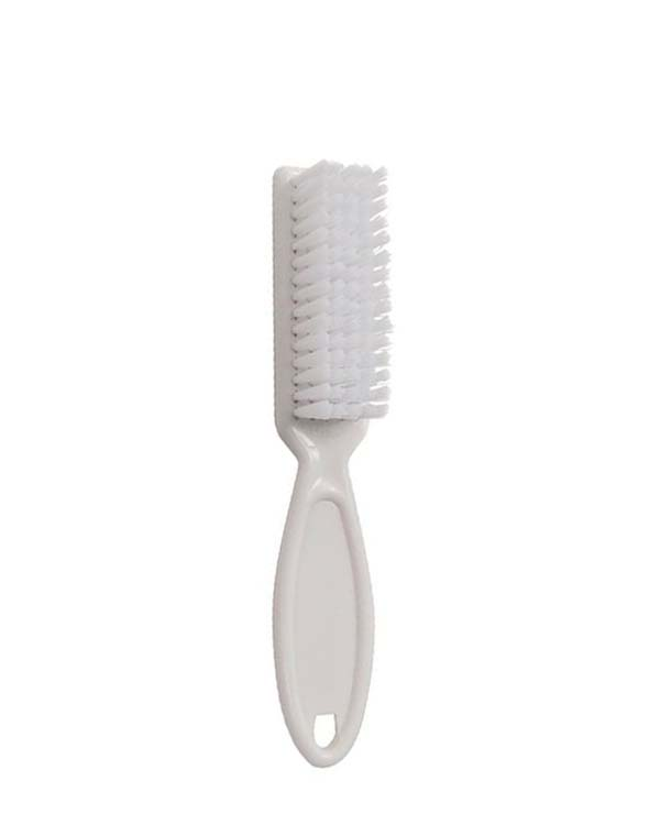 ALL SEASON NYLON BRISTLE NAIL BRUSH, WHITE