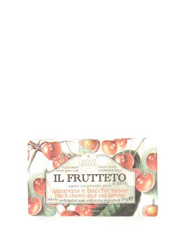NESTI DANTE IL FRUTTETO BLACK CHERRY AND RED BERRIES SOAP 8.8 OZ