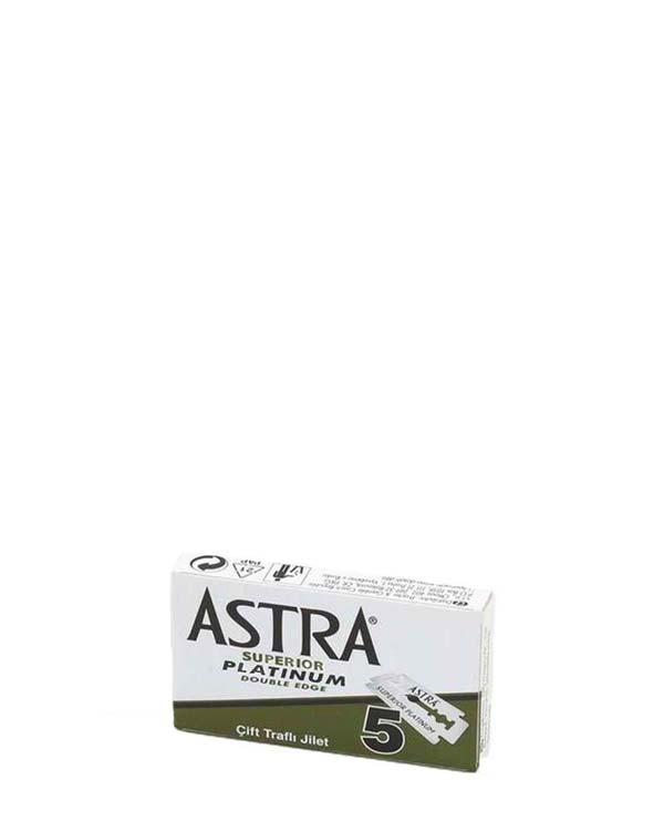 ASTRA SUPERIOR PLATINUM DOUBLE EDGE BLADES 5 PACK