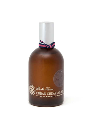 BATH HOUSE CUBAN CEDAR & LIME COLOGNE 100ml