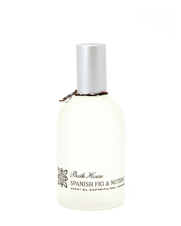BATH HOUSE SPANISH FIG & NUTMEG COLOGNE 100ml