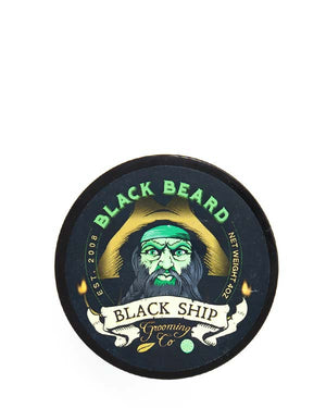 BLACK SHIP GROOMING CO BLACK BEARD SHAVE SOAP 4 OZ