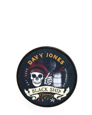 BLACK SHIP GROOMING CO DAVY JONES SHAVE SOAP 4 OZ