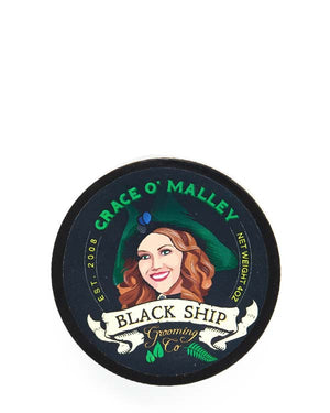 BLACK SHIP GROOMING CO GRACE O' MALLEY SHAVE SOAP 4 OZ
