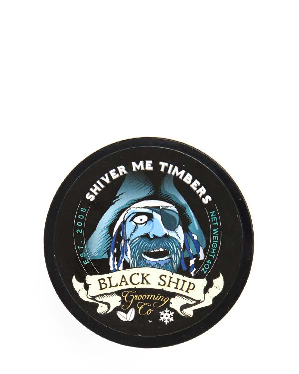 BLACK SHIP GROOMING CO SHIVER ME TIMBERS SHAVE SOAP 4 OZ