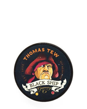 BLACK SHIP GROOMING CO THOMAS TEW SHAVE SOAP 4 OZ