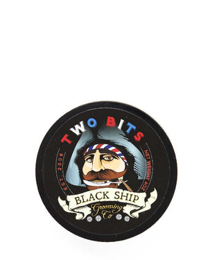 BLACK SHIP GROOMING CO TWO BITS SHAVE SOAP 4 OZ