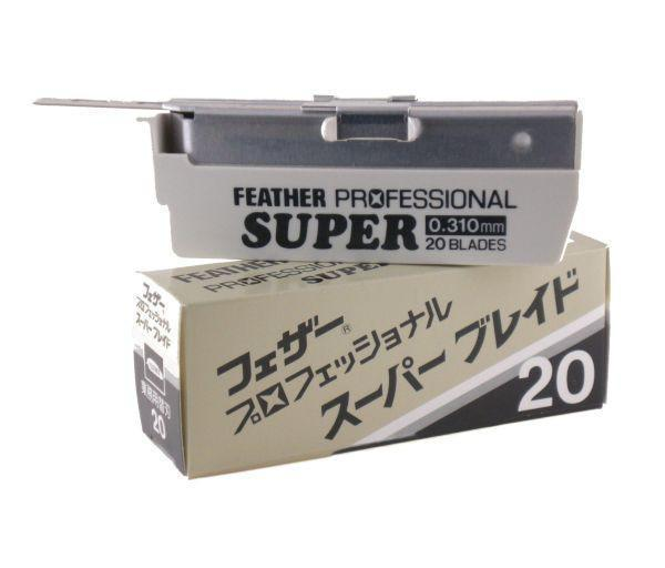 FEATHER PROFESSIONAL SUPER BLADES 20 PACK