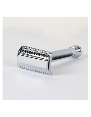 MERKUR 9039001 SLANTED LONG HANDLE SAFETY RAZOR