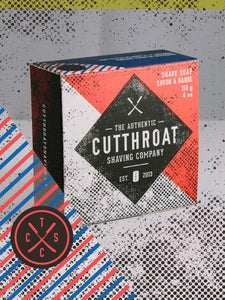 CUTTHROAT SHAVING CO SCALLYWAG SHAVE SOAP 4 OZ