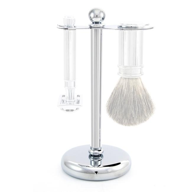 EDWIN JAGGER BRUSH AND RAZOR STAND, METAL RHM8711 (STAND ONLY)