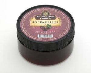 CAPTAIN'S CHOICE 45TH PARALLEL SHAVING SOAP 5 OZ