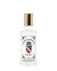 CASWELL-MASSEY GREENBRIAR AFTER SHAVE 3 FL OZ