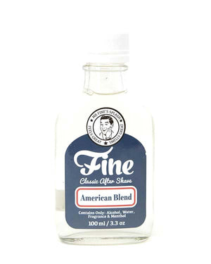 FINE AMERICAN BLEND CLASSIC AFTER SHAVE 3.3 OZ