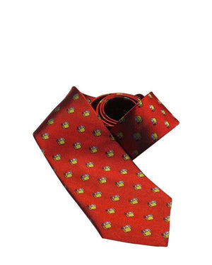 FINE ORANGE MUG NECKTIE