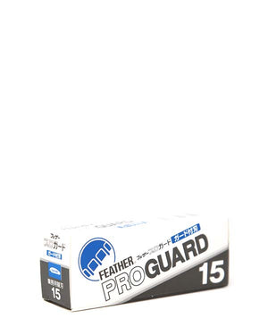 FEATHER PROGUARD BLADES 15 PACK