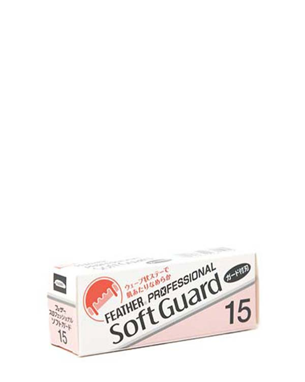FEATHER PROFESSIONAL SOFT GUARD 15 PK