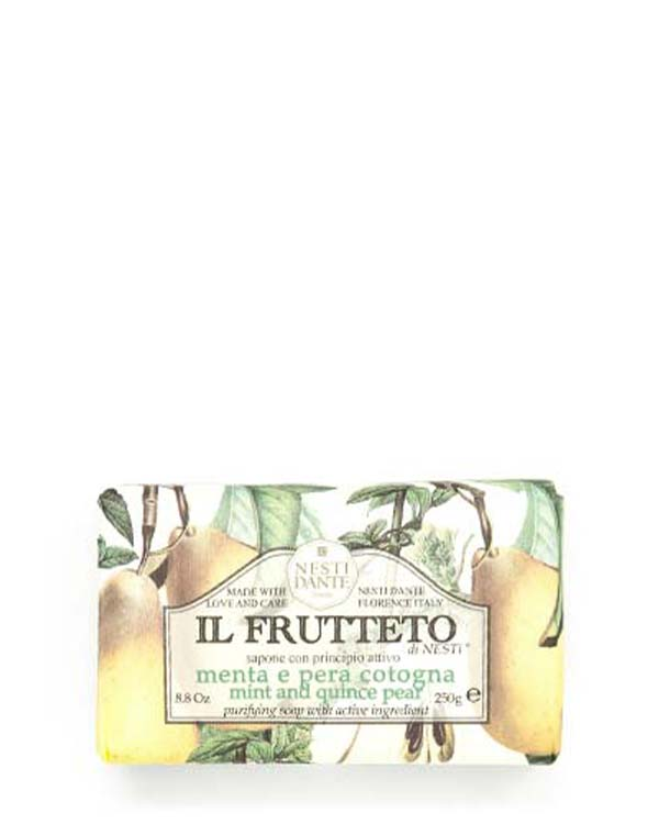NESTI DANTE IL FRUTTETO MINT AND QUINCE PEAR SOAP 8.8 OZ