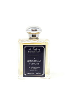 TAYLOR OF OLD BOND STREET MR TAYLORS A GENTLEMAN'S COLOGNE  3.38 FL OZ