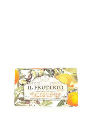 NESTI DANTE IL FRUTTETO OLIVE AND TANGERINE SOAP 8.8 OZ