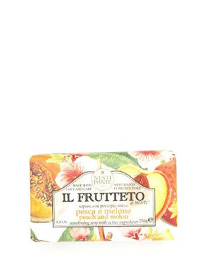 NESTI DANTE IL FRUTTETO PEACH AND MELON SOAP 8.8 OZ