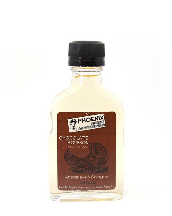 PHOENIX CHOCOLATE BOURBON AFTERSHAVE & COLOGNE 3.5 OZ