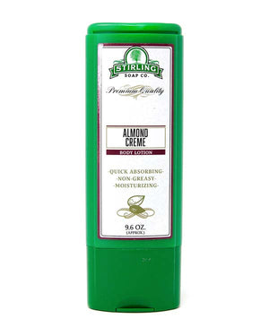 STIRLING SOAP CO ALMOND CREME BODY LOTION 9.6 OZ