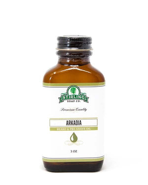 STIRLING SOAP CO ARKADIA BEARD & PRE-SHAVE OIL 3 OZ