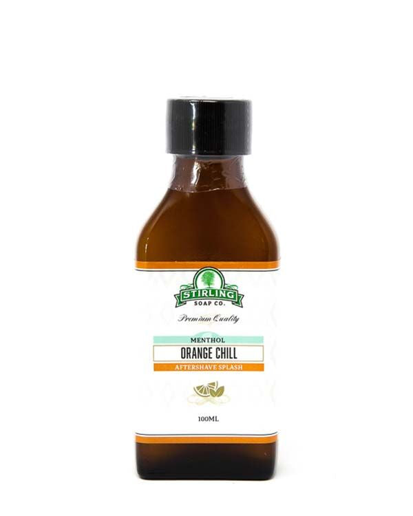 STIRLING SOAP CO ORANGE CHILL AFTERSHAVE SPLASH 100ml