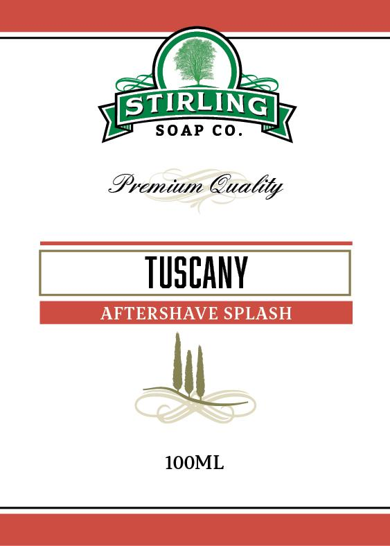 STIRLING SOAP CO TUSCANY AFTERSHAVE SPLASH 100ml